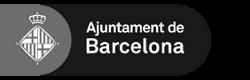 logo Ajuntament de Barcelona blanc i negre